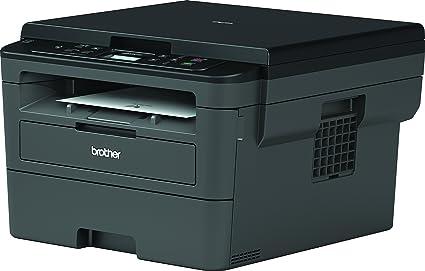 Brother DCPL2510D - Impresora multifunción láser monocromo con impresión dúplex (30 ppm, USB 2.0, procesador de 600 MHz, memoria de 64 MB) gris
