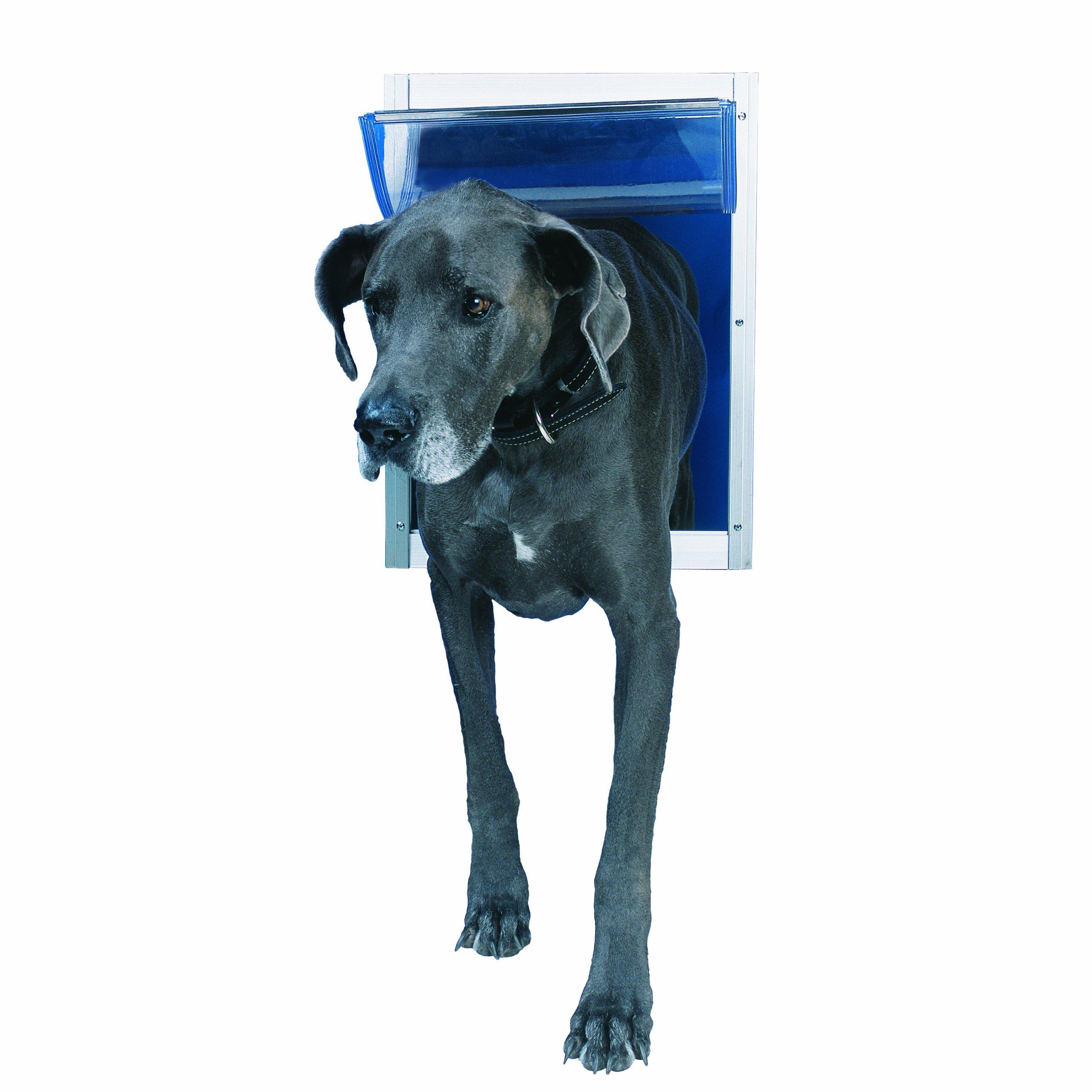 Perfect Pet Aluminum Pet Door, Super Large, 15'' x 20'' Flap Size