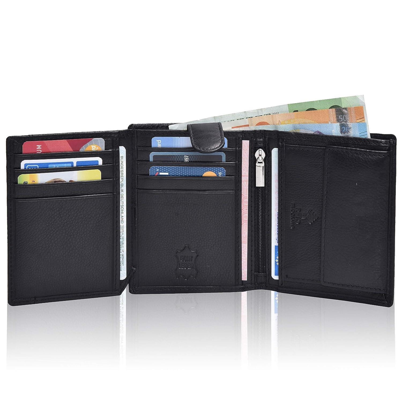 df1ef94873512 Hochwertige Ledergeldbörse für Sie   Ihn – Mundial® RFID- Schutz ...