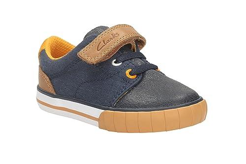 e66789c6e6d Clarks Boy s Blue First Walking Shoes - 4.5 Kids UK India (20.5 EU)   Amazon.in  Shoes   Handbags
