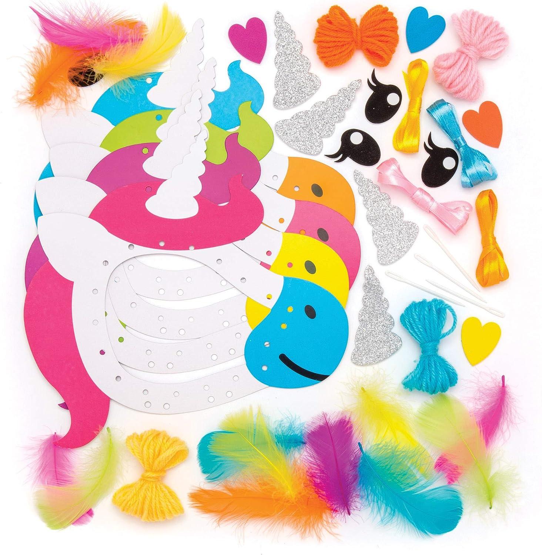Baker Ross Kits attrape-r/êves licorne paquet de 4 Loisir cr/éatifs pour enfants et adultes