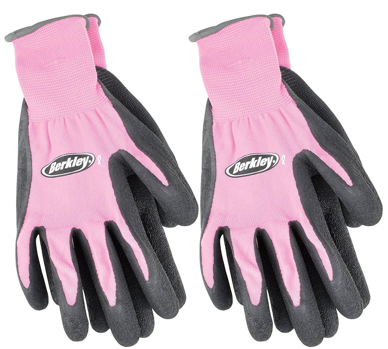 Berkley Fishing Gloves Combo Pack (Pink (2 Pack))