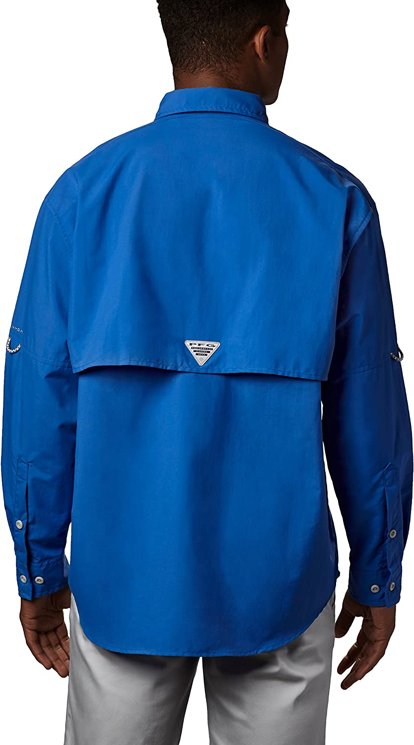 Columbia Bahama Ii Long Sleeve Shirt Vivid Blue