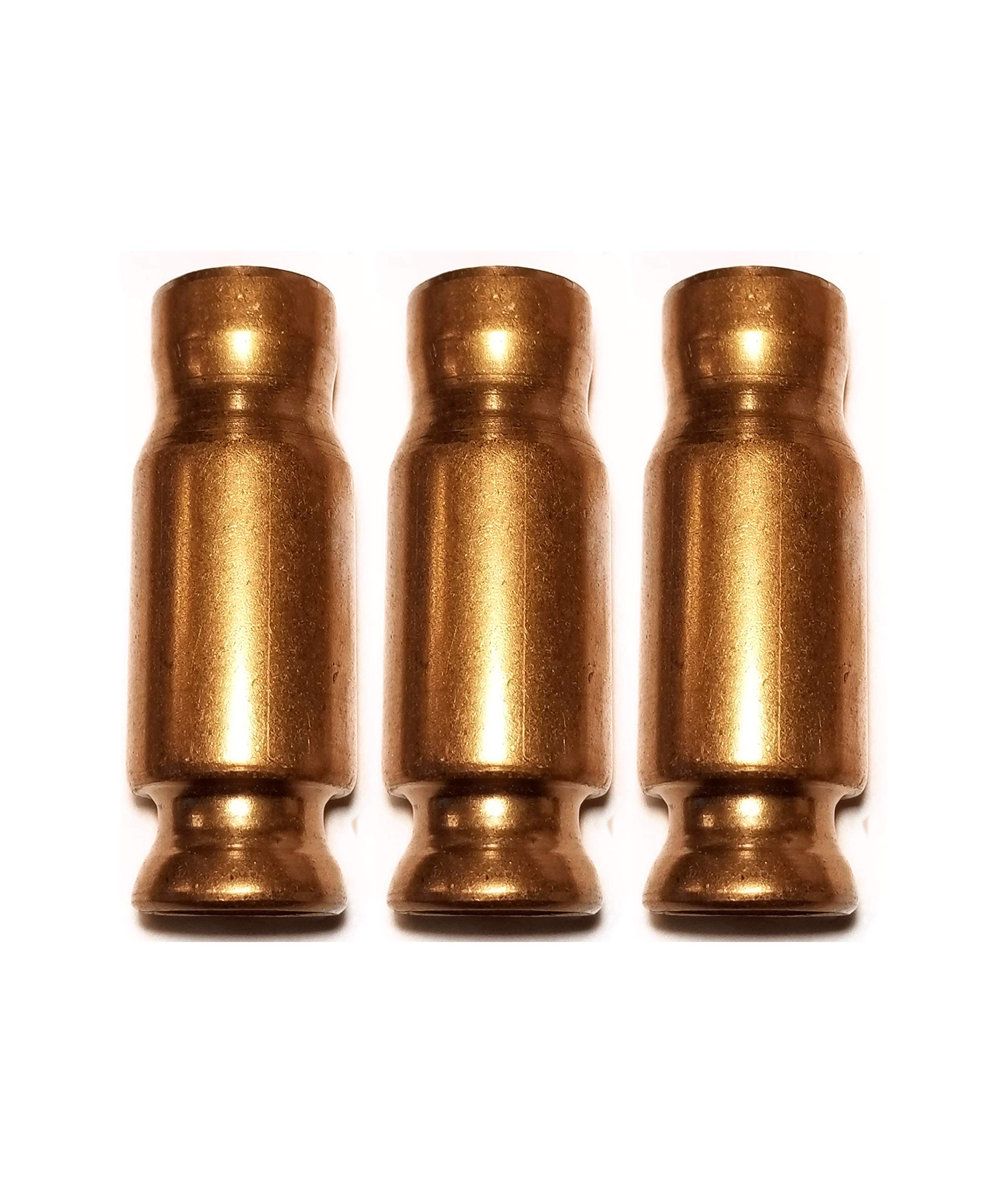 Jiggler Express Shaker Siphon Self-Priming 1'' XXL Copper Pump Head - 3 pc Set (No Hose)