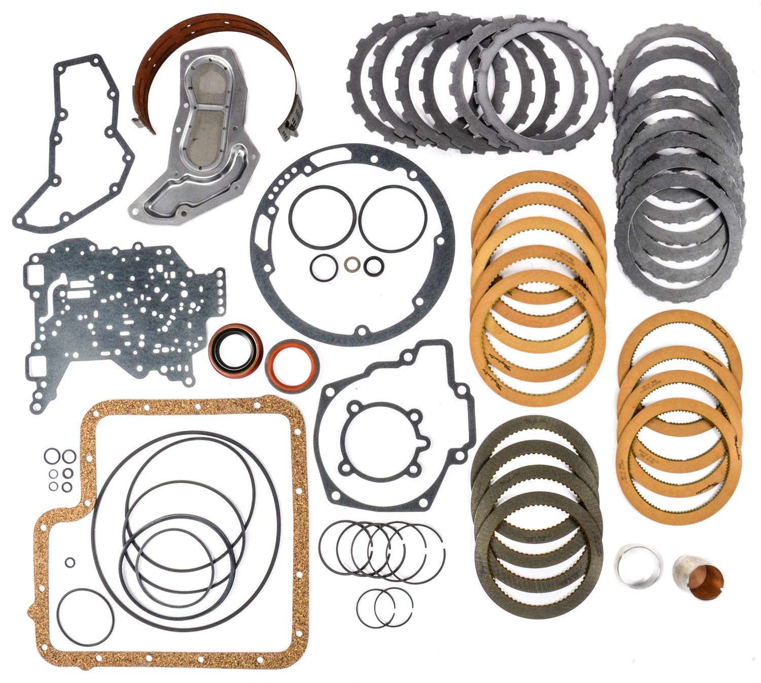 JEGS Performance Products 62110 Transmission Rebuild Kit 1976-1997 Ford C6 Inclu