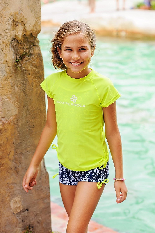 Snapper Rock Mädchen UPF UPF UPF 50+ UV Sonnenschutz Tankini Set Tank Top & Shorts Hose Badeanzug für Kinder & Jugendliche B01D8NXTJO Bikinis Moderne und stilvolle Mode fd46ff