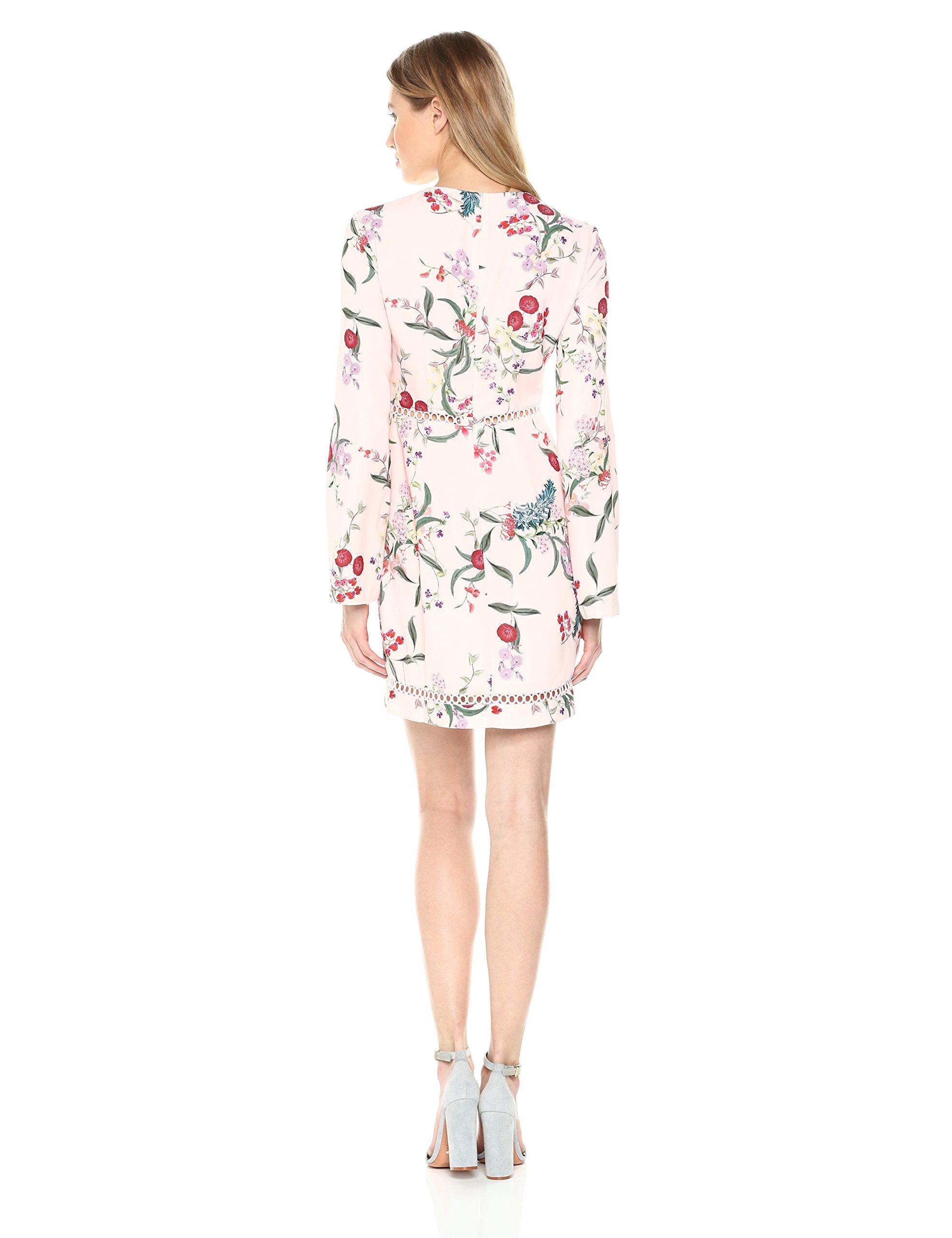 Keepsake The Label Women's Indulge LS Mini Dress, Blush Botanic Floral, S by Keepsake The Label (Image #2)