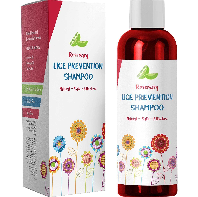 Kid's Dandruff Shampoo for Sensitive Scalp - with Rosemary Essential Oil - Tea Tree Oil Dandruff Shampoo for Oily Hair & Itchy Scalp