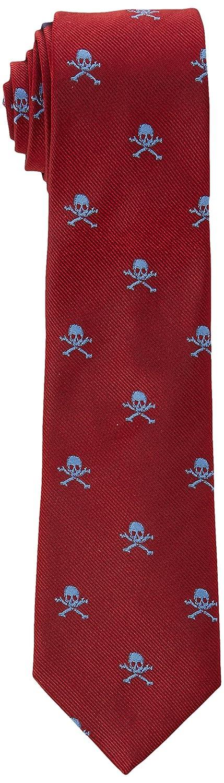 Scalpers Skull and Regimental Tie 11, Corbata para Hombre ...