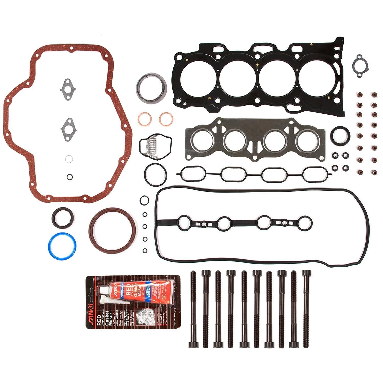 Amazon evergreen fshb2040 full gasket set head bolt automotive solutioingenieria Choice Image