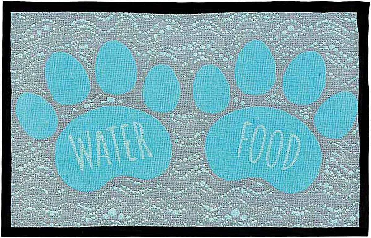 Loving Pets Bella Fashion Mat for Dogs, Food and Water