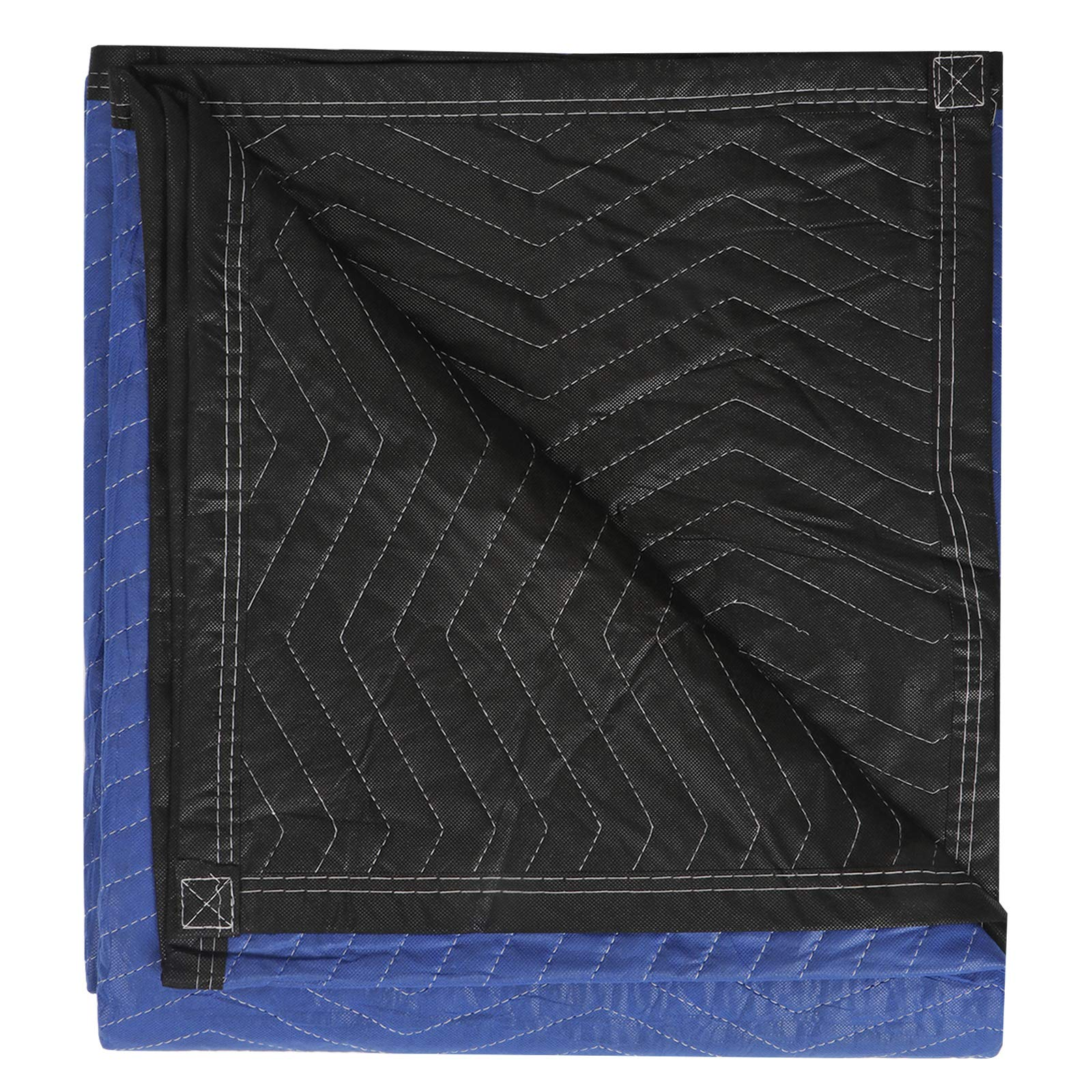 ZENY 12 Moving Blankets Packing Blanket Quilted Shipping Furniture Pads 80''x 72'' Moving Supplies,Furniture Protection and Pack Blankets by ZENY (Image #4)