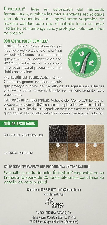 Farmatint Gel 7D Rubio Dorado   Color natural y duradero   Componentes vegetales y aceites naturales   Sin amoníaco   Sin Parabenos   ...