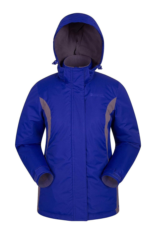 Mountain Warehouse Chaqueta de esquí Moon para Mujer - a Prueba de Nieve, Aislamiento de Microfibra, Abrigo de Invierno a Prueba de Viento, cálida y Ajustable Capucha cálida y Ajustable Capucha