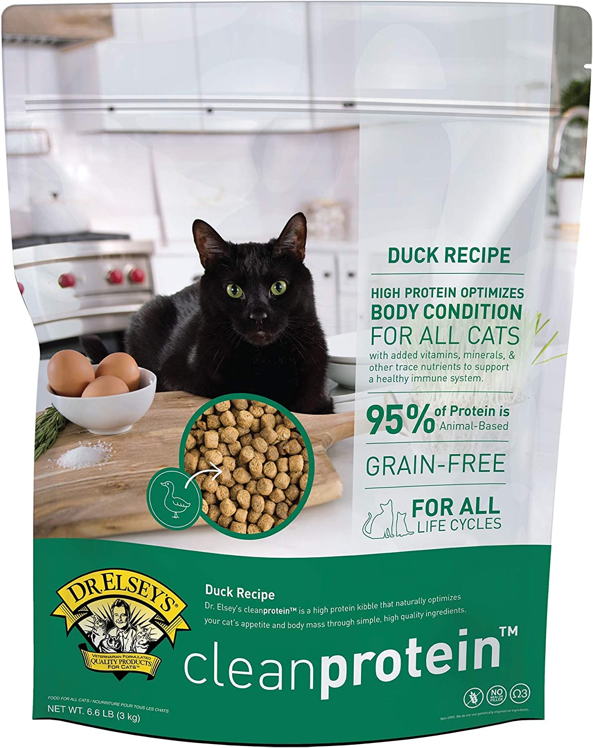 Dr. Elsey's Cleanprotein Dry Kibble Duck