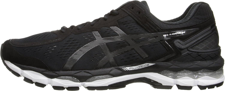 Asics Gel Kayano para Hombre, 22 m, Color carbón/Plata/Tomate de Cerezo: Asics: Amazon.es: Zapatos y complementos