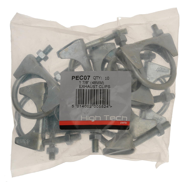 Abrazaderas para tubos de escape Pearl PEC07 1,7//8, 18 x 14 x 7 cm, 10 unidades
