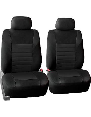 Neosupreme Carbon Fiber with Black Sides Coverking Center 50/50 Split Bench Custom Fit Seat Cover for Select Lexus LX450 Models