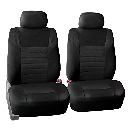 FH Group FB068102 Premium 3D Air Mesh Seat Covers Pair Set Airbag Compatible