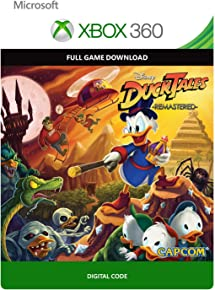 Ducktales: Remastered - Xbox 360 / Xbox One Digital Code