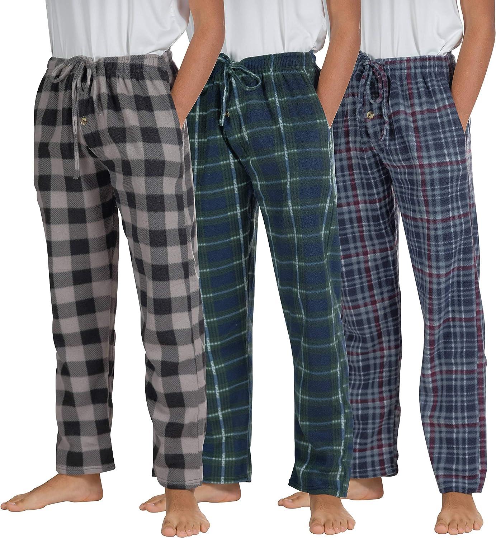 Wholesale Lot Of 12 Men's Fleece Sleep Pants