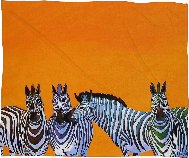 Deny Designs Clara Nilles Ranking TOP6 Candy Throw Blank Zebras Sales for sale Fleece Stripe