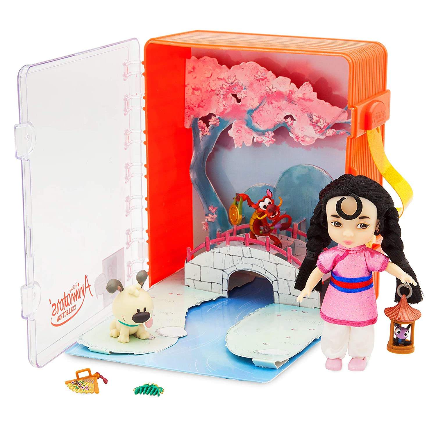 Disney Animators Collection Moana Mini Doll Play Set From Japan With Tracking