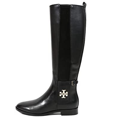 e4ddd1fe9915 Tory Burch Boots Wyatt Boot Calf Leather Stretch (8.5