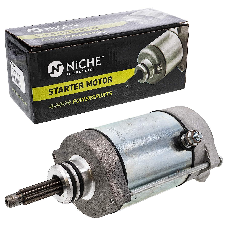 NICHE Starter Motor Assembly 4014037 For 2013-2019 Polaris Ranger RZR Ace 900 General 1000