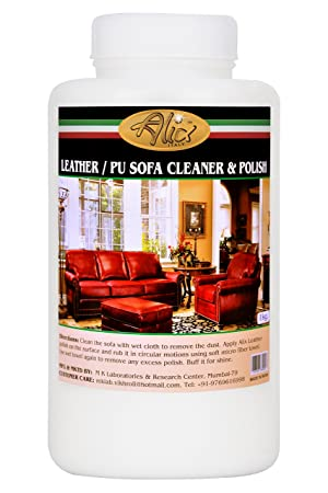 ALIX Leather Sofa Cleaner and Polish (1000 ml) Cleans Most Stains and Gives New Look & Shine to Your Leather/PU Sofa