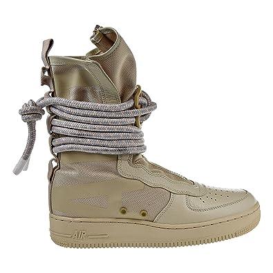 Nike SF Air Force High Top Womens Boots RattanRattanWhite