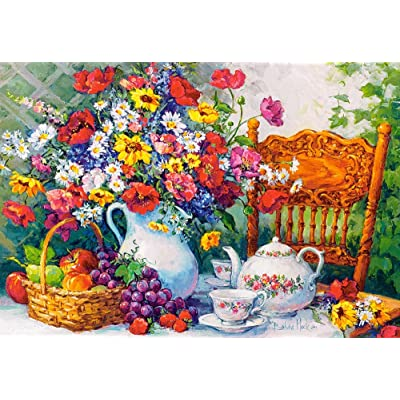 Castorland C-103836 Jigsaw 1000 pc-Time for Tea: Toys & Games