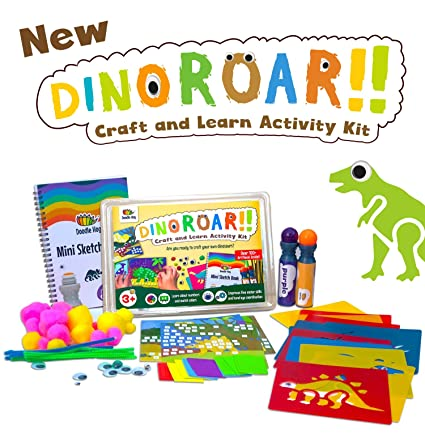 Amazon Dinosaur Arts And Crafts Kit Supplies For Kids