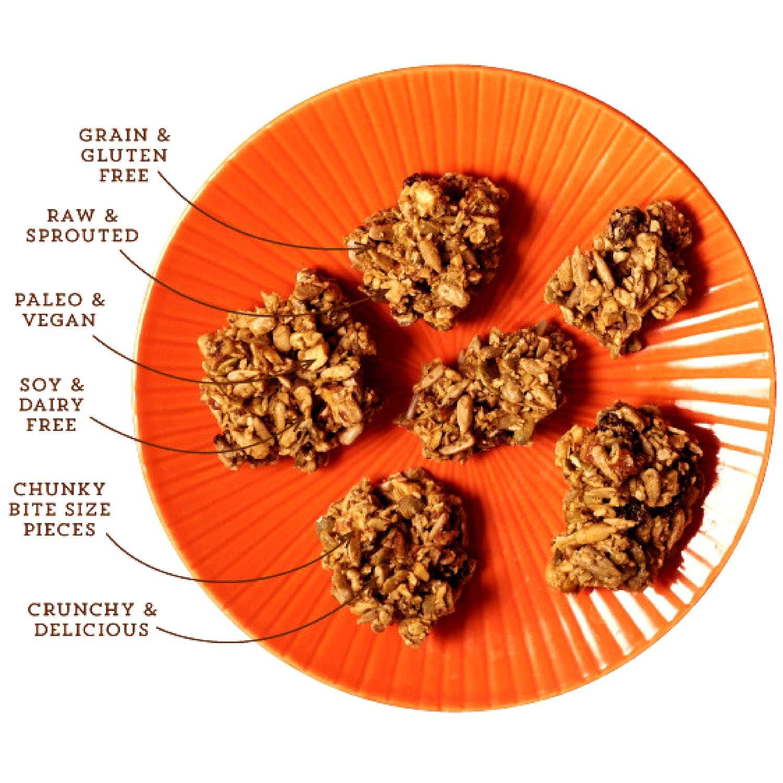 Lark Ellen Farm Bajo en carbohidratos, arce, pasas, cereal ...