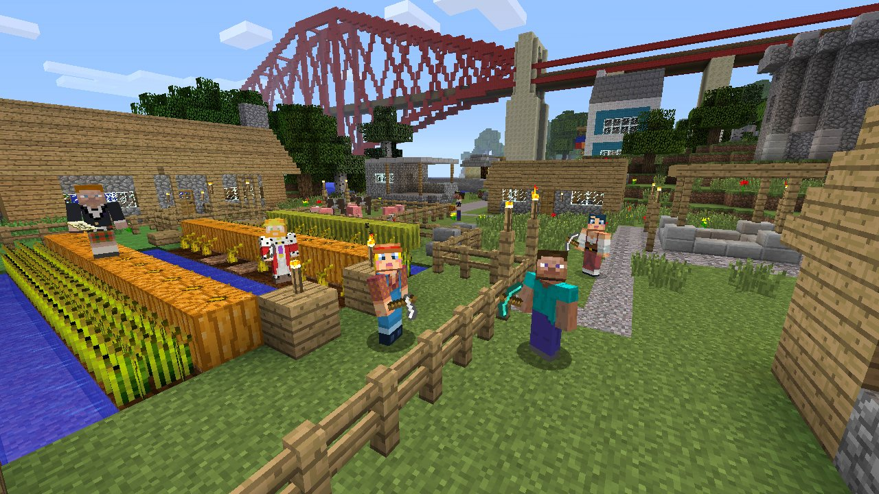 Amazon Minecraft Xbox 360 Video Games