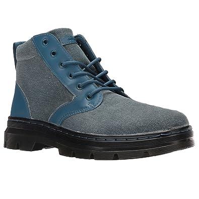 de292aa23d Dr.Martens Womens Bonny 6-Eyelet Blue Canvas Boots 4 UK: Amazon.co ...