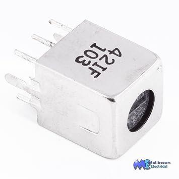 Sub-Miniature IF Transformer 455kHz 20k-6k 42IF103: Amazon