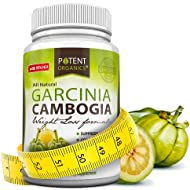 Pure Garcinia Cambogia Extract - 95% HCA Capsules - Best Weight Loss Supplement - Non GMO Carb Blocker - Gluten & Gelatin Free - Natural Appetite Suppressant - 100% Money Back Guarantee - 60 Caps®