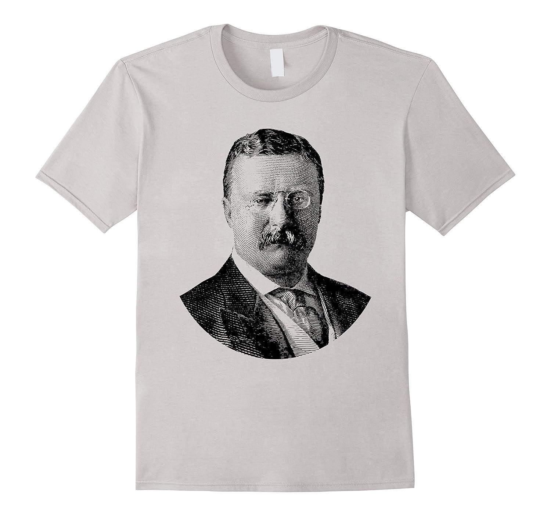 President Theodore Roosevelt T-Shirt-CD