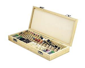 SE RA9228 228-Piece Rotary Tool Accessories Kit