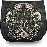 Loungefly x Star Wars Darth Vader Gold Sugar Skull Crossbody