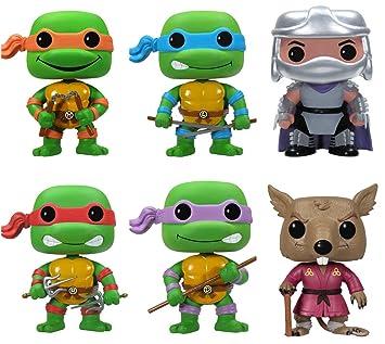 18ac9274745 Funko POP Teenage Mutant Ninja Turtles Pop Vinyl Figures - Set of 6 ...