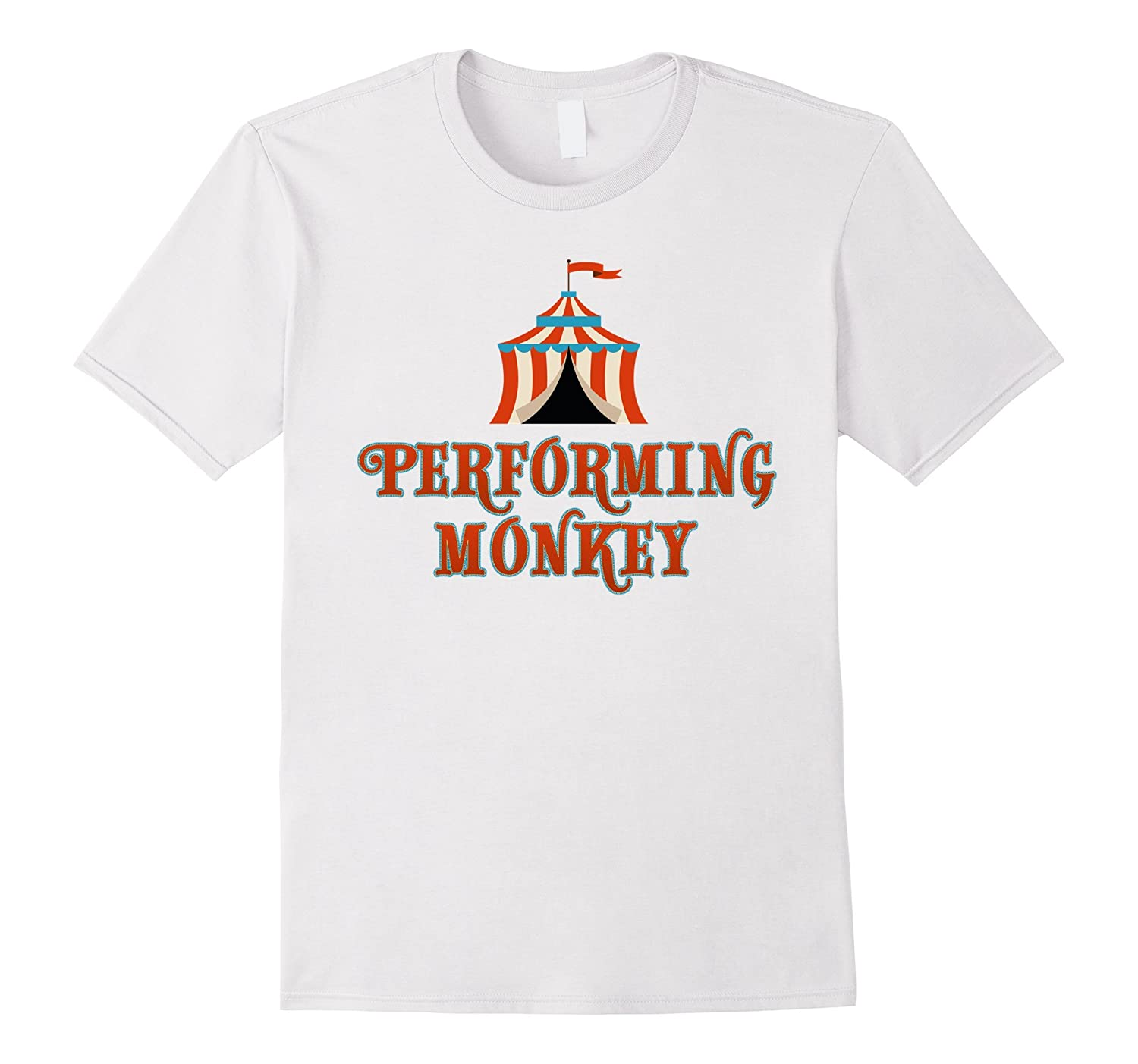 Carnival Performing Monkey Circus Birthday Party Shirt Ah My One Gift