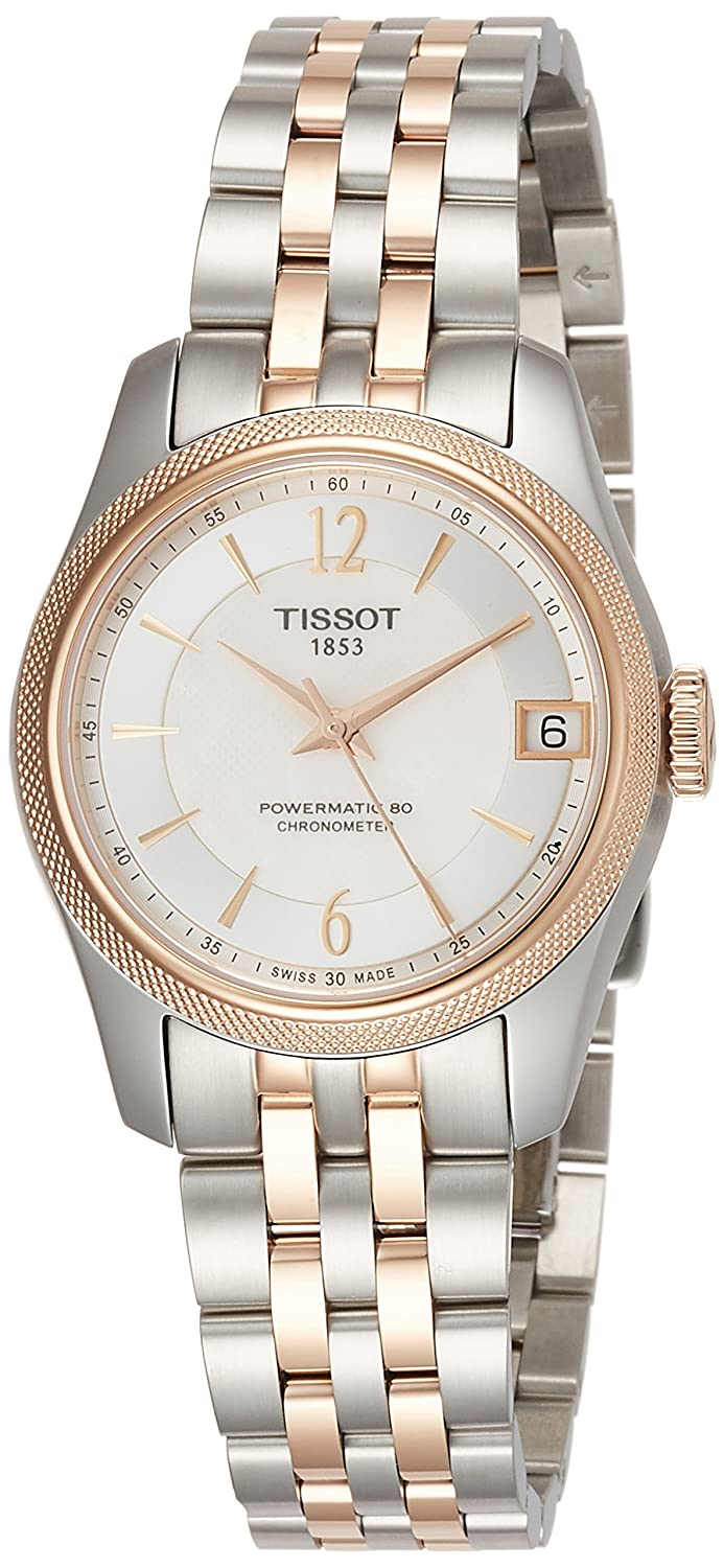 db169f21a87 Amazon.com  Tissot Ballade Automatic Chronometer White Mother of Pearl Dial  Ladies Watch T108.208.22.117.01  Watches