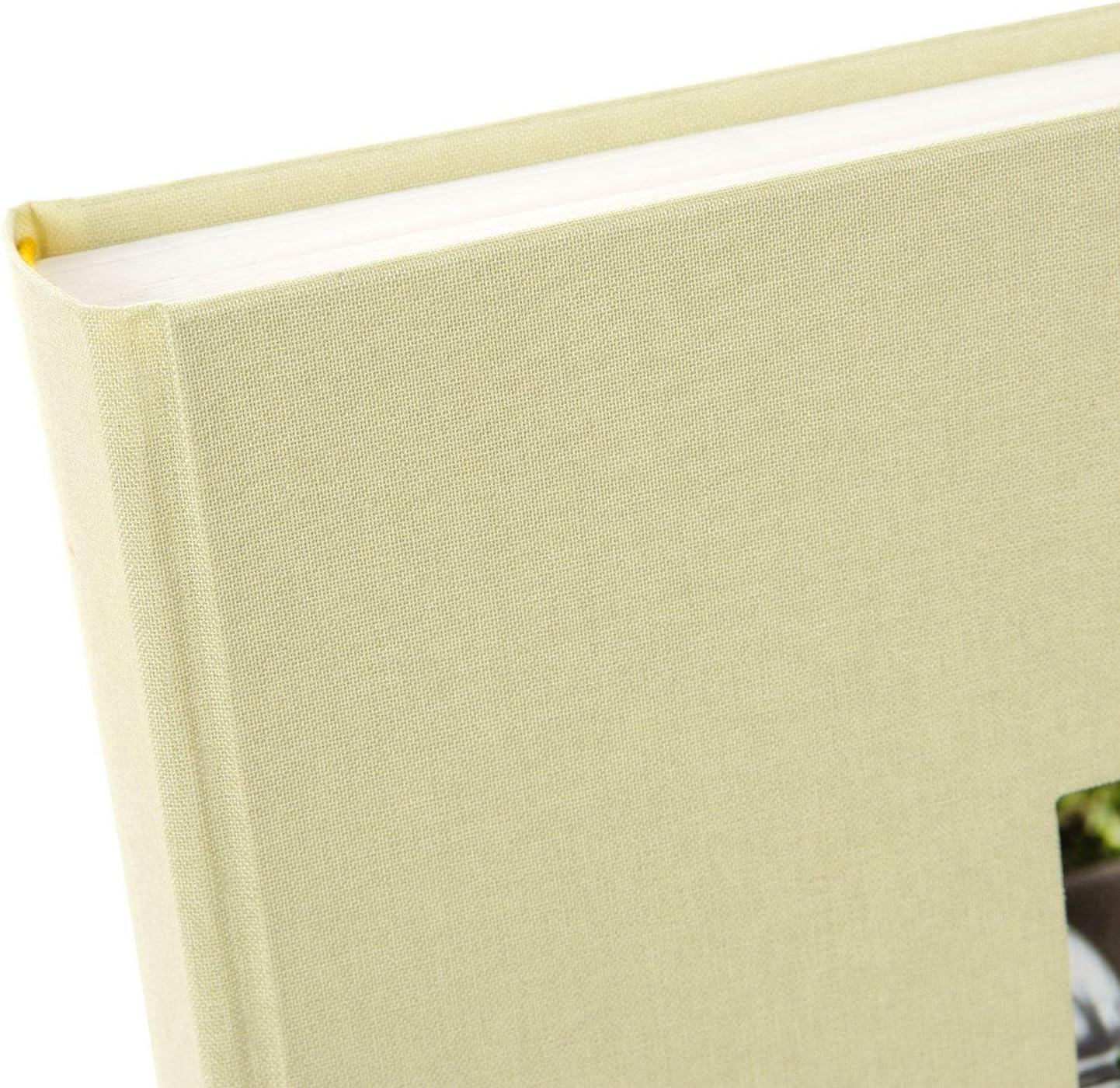 Aqua Goldbuch Photo Album 25x25 cm linen