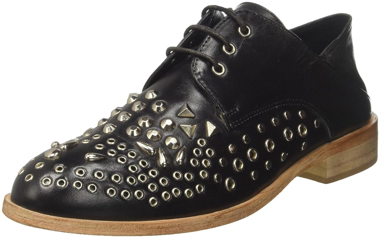 Gaudì Carol, Zapatos de Cordones Derby para Mujer 41 EU|Negro (Black V0001)