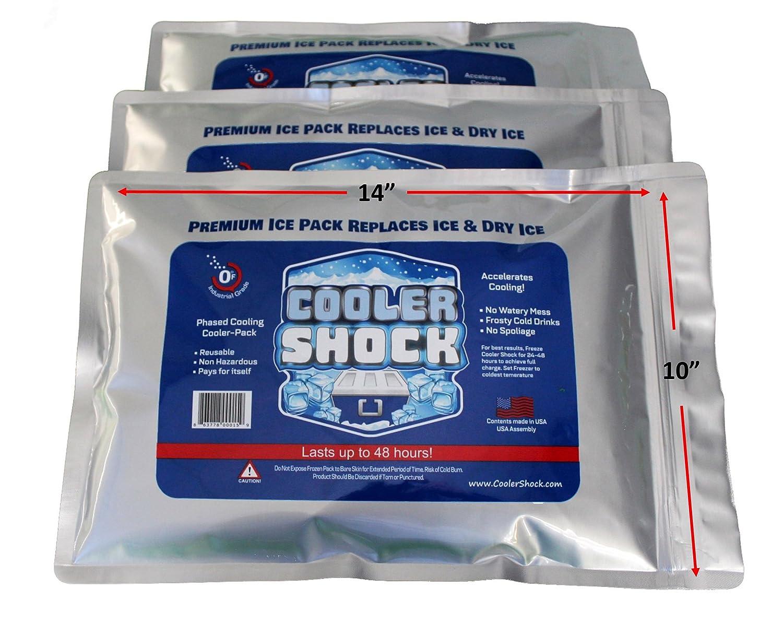 Cooler Shock Zero°F Cooler Freeze Packs