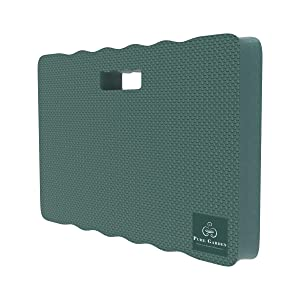 Pure Garden 50-LG1080 Multiuse Kneeling Pad with Handle-Extra Thick EVA Foam Ergonomic Comfort Mat Knee Protector for Gardening, Indoor and Outdoor Use