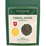 VAHDAM, Green Tea Leaves from Himalayas (100+ Cups) 9oz Bag - 100% Natural Weight Loss Tea & Slimming Tea - Powerful Anti-OXI