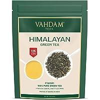 Hojas de té verde de Himalaya (más de 100+ tazas), hojas sueltas de té verde 100% natural, poderosos antioxidantes…